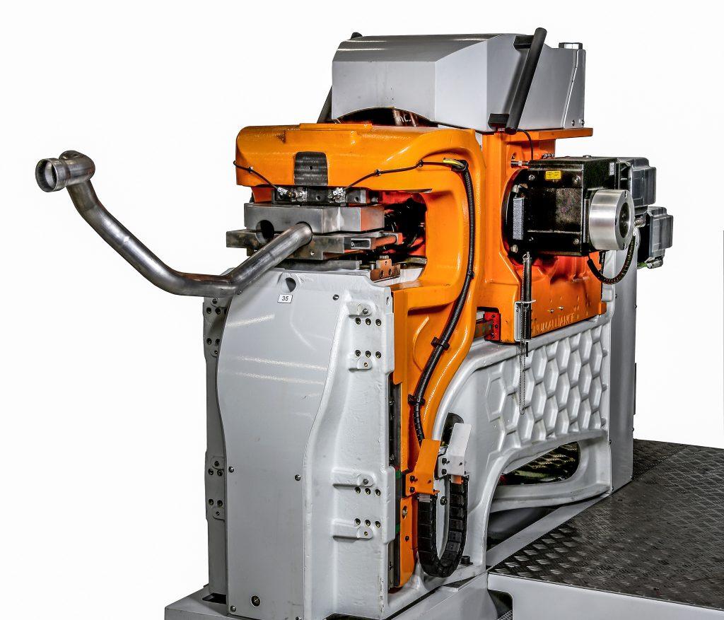 Numaform 5-8-12E - Machine vue de profil - Numalliance
